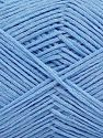 Fiber Content 67% Cotton, 33% Polyamide, Light Blue, Brand Ice Yarns, Yarn Thickness 2 Fine  Sport, Baby, fnt2-67369