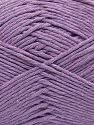 Fiber Content 100% Cotton, Light Lilac, Brand Ice Yarns, fnt2-67449