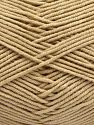 Fiber Content 50% Cotton, 50% Acrylic, Light Beige, Brand Ice Yarns, fnt2-67464
