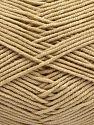 Περιεχόμενο ίνας 50% Βαμβάκι, 50% Ακρυλικό, Light Beige, Brand Ice Yarns, fnt2-67464