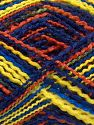Fiber Content 100% Acrylic, Yellow, Navy, Brand Ice Yarns, Copper, Blue, fnt2-67746