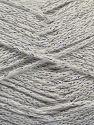 Περιεχόμενο ίνας 88% Βαμβάκι, 12% Μεταλλικό lurex, Off White, Brand Ice Yarns, fnt2-67828