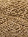 Περιεχόμενο ίνας 88% Βαμβάκι, 12% Μεταλλικό lurex, Brand Ice Yarns, Dark Cream, fnt2-67830