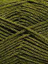 Περιεχόμενο ίνας 88% Βαμβάκι, 12% Μεταλλικό lurex, Khaki, Brand Ice Yarns, fnt2-67840