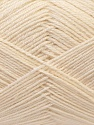 Contenido de fibra 60% Lana Merino, 40% Acrílico, Brand Ice Yarns, Cream, Yarn Thickness 2 Fine  Sport, Baby, fnt2-21090