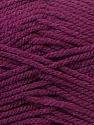 Bulky  Fiber Content 100% Acrylic, Maroon, Brand Ice Yarns, Yarn Thickness 5 Bulky  Chunky, Craft, Rug, fnt2-23756
