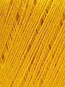 Fiber Content 50% Linen, 50% Viscose, Yellow, Brand Ice Yarns, Yarn Thickness 2 Fine  Sport, Baby, fnt2-27257