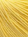 Fiber Content 60% Cotton, 40% Acrylic, Light Yellow, Brand Ice Yarns, Yarn Thickness 2 Fine  Sport, Baby, fnt2-32558