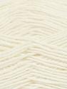 Fiber Content 50% Wool, 50% Acrylic, White, Brand Ice Yarns, Yarn Thickness 3 Light  DK, Light, Worsted, fnt2-35018