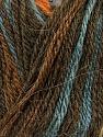 Contenido de fibra 40% Acrílico, 35% Lana, 25% Alpaca, Orange, Brand Ice Yarns, Camel, Brown, Blue, Yarn Thickness 2 Fine  Sport, Baby, fnt2-36980