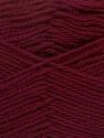 Fiberinnehåll 100% NY ULL, Brand Ice Yarns, Burgundy, Yarn Thickness 3 Light  DK, Light, Worsted, fnt2-42309