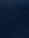 Fiberinnehåll 100% NY ULL, Navy, Brand Ice Yarns, Yarn Thickness 3 Light  DK, Light, Worsted, fnt2-42310