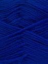 Fiberinnehåll 100% NY ULL, Brand Ice Yarns, Bright Blue, Yarn Thickness 3 Light  DK, Light, Worsted, fnt2-42316