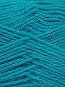 Fiberinnehåll 100% NY ULL, Turquoise, Brand Ice Yarns, Yarn Thickness 3 Light  DK, Light, Worsted, fnt2-42318