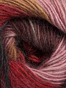 Fiber Content 40% Wool, 30% Acrylic, 30% Mohair, Rose Pink, Red, Maroon, Light Brown, Brand Ice Yarns, Black, Yarn Thickness 3 Light  DK, Light, Worsted, fnt2-46085