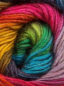 Fiber Content 40% Wool, 30% Acrylic, 30% Mohair, Rainbow, Brand Ice Yarns, Yarn Thickness 3 Light  DK, Light, Worsted, fnt2-46394